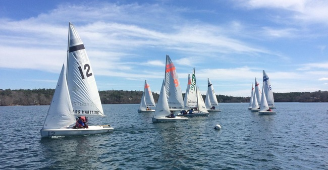 Dinghy Sailing Wraps Up Spring Campaign With Solid Third Place Finish At O'Toole Trophy Regatta