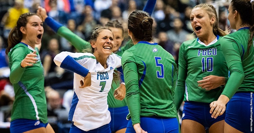 BRACKET BUSTERS! FGCU Upsets No. 13 UCF In NCAA First Round
