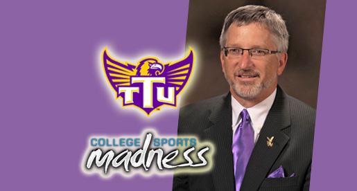 Tech president named collegesportsmadness.com Cheerleader of the Week