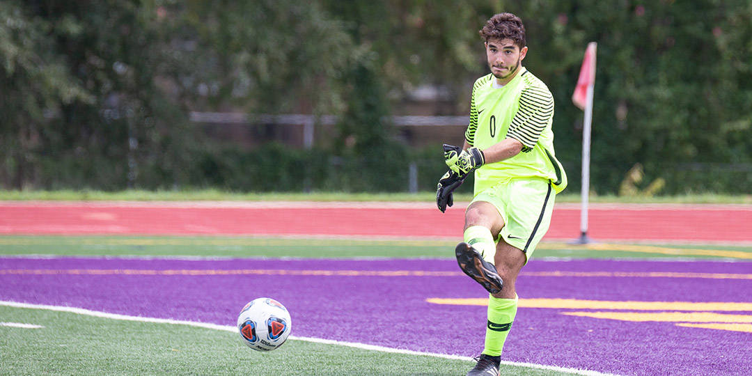 Freshman goalie Sami Borchalli leads the Southern Collegiate Athletic Conference with 34 saves on the year.