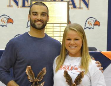 Day, Hefner named athletes of the year at athletic banquet