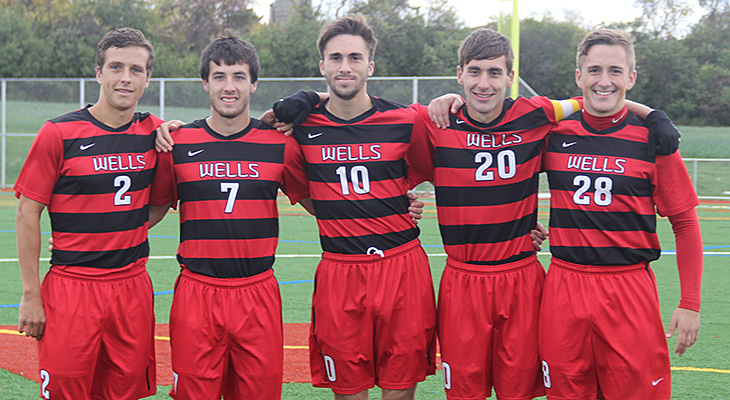 Seniors Shine In Men's Soccer Win Over Bryn Athyn