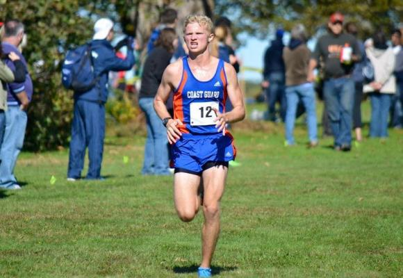 Ezzo Leads Men's XC to 4th Place Finish at NEWMAC Championships