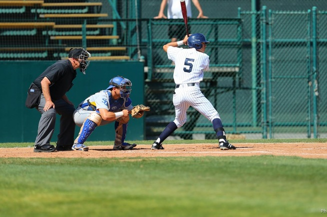 File Photo: Gabe Gonzalez homered in the loss to LA Harbor