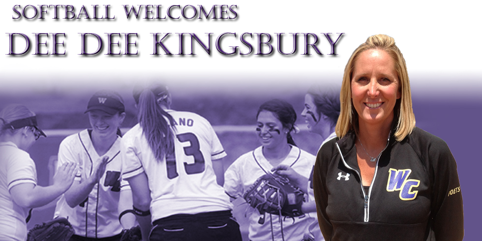 Dee Dee Kingsbury to lead Poet softball program