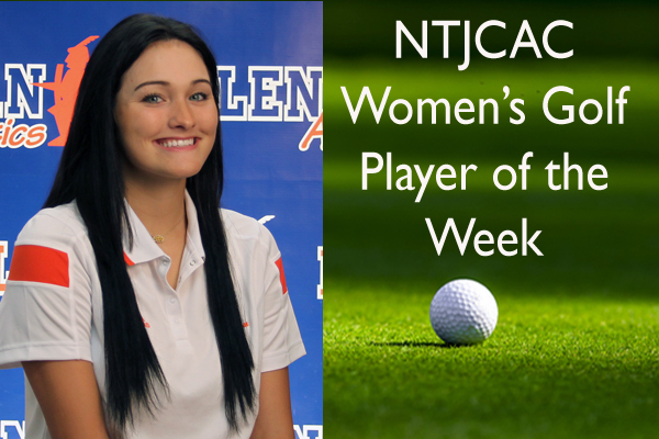 NTJCAC Women's Golf Player of the Week (April 9-15)
