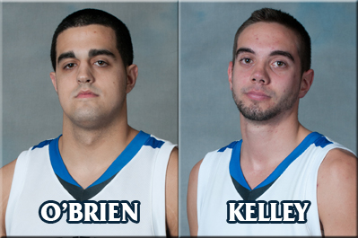 O'Brien and Kelley Collect All-GNAC Accolades