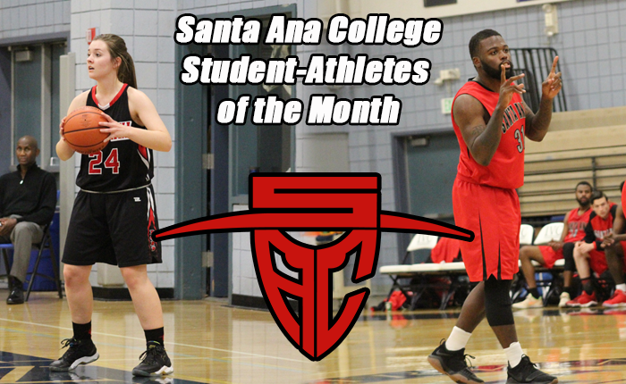 Smith and Johnlouis Jr. Named SAC Student-Athletes of the Month