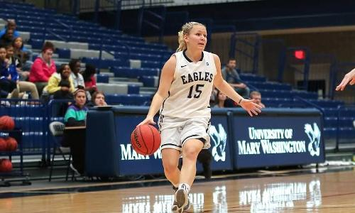 Partonen Paces the Eagles Past Wesley, 79-52, on Saturday