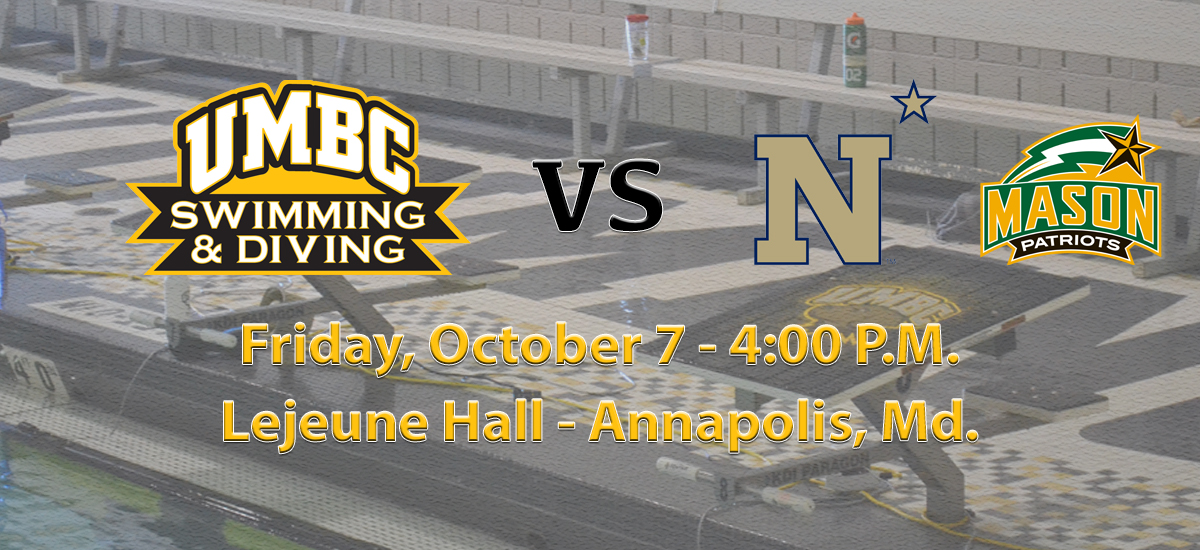 UMBC Swimming and Diving Heads to Annapolis for Tri-Meet with Navy and George Mason on Friday