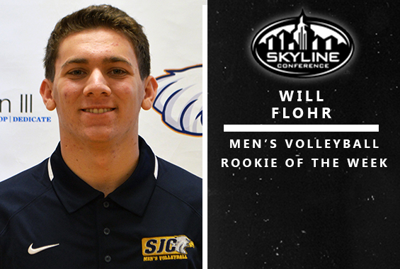 Flohr Named Skyline Men's Volleyball Rookie of the Week