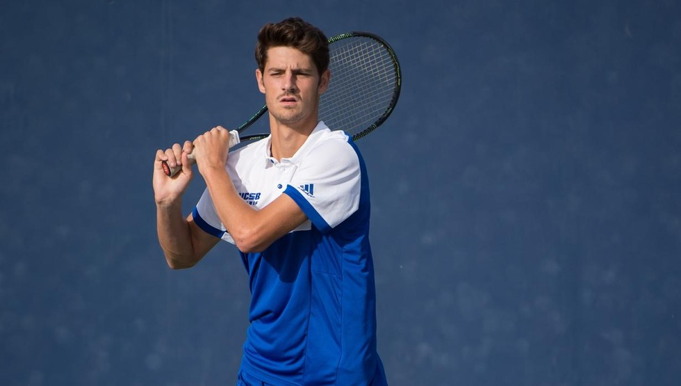 Joseph Guillin has won six consecutive singles matches following today's victory.