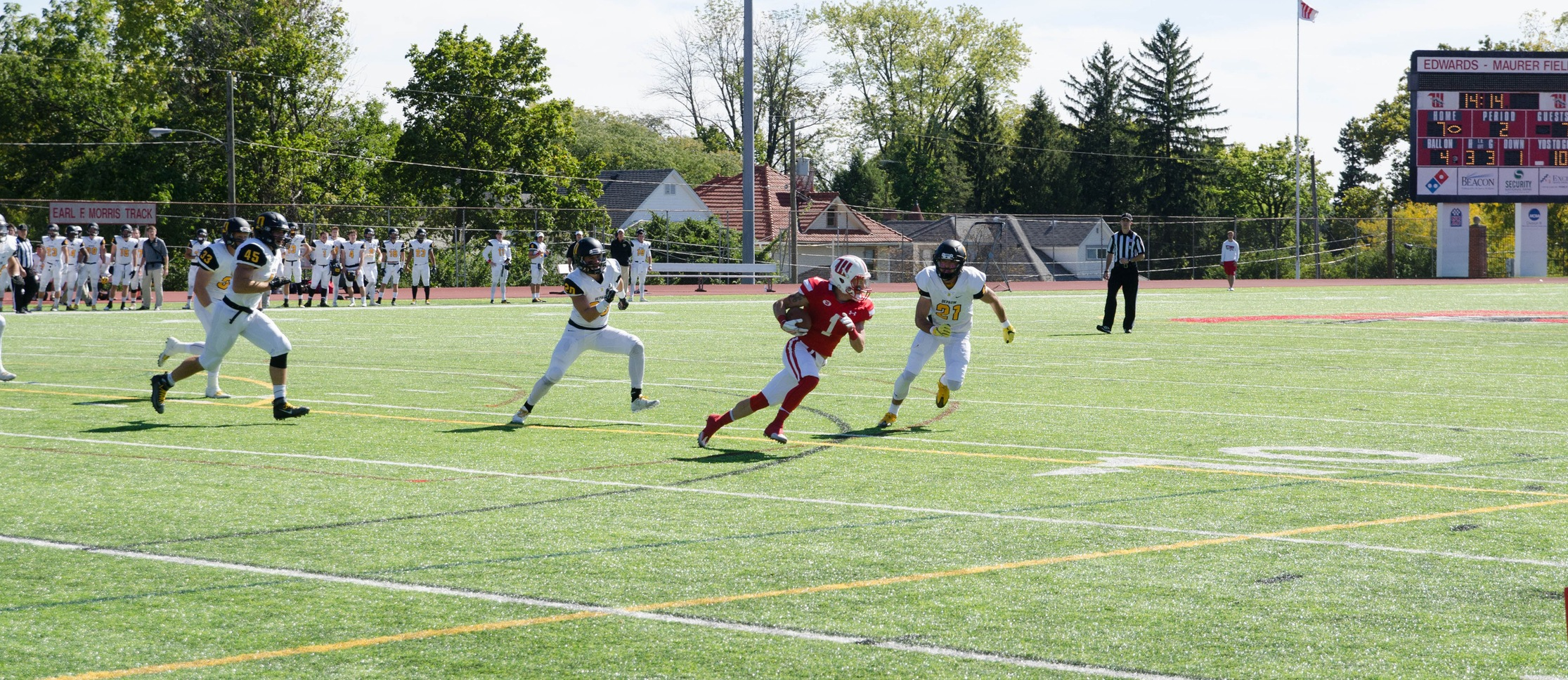 #16 Wittenberg Opens Season with 20-14 Win Over Westminster