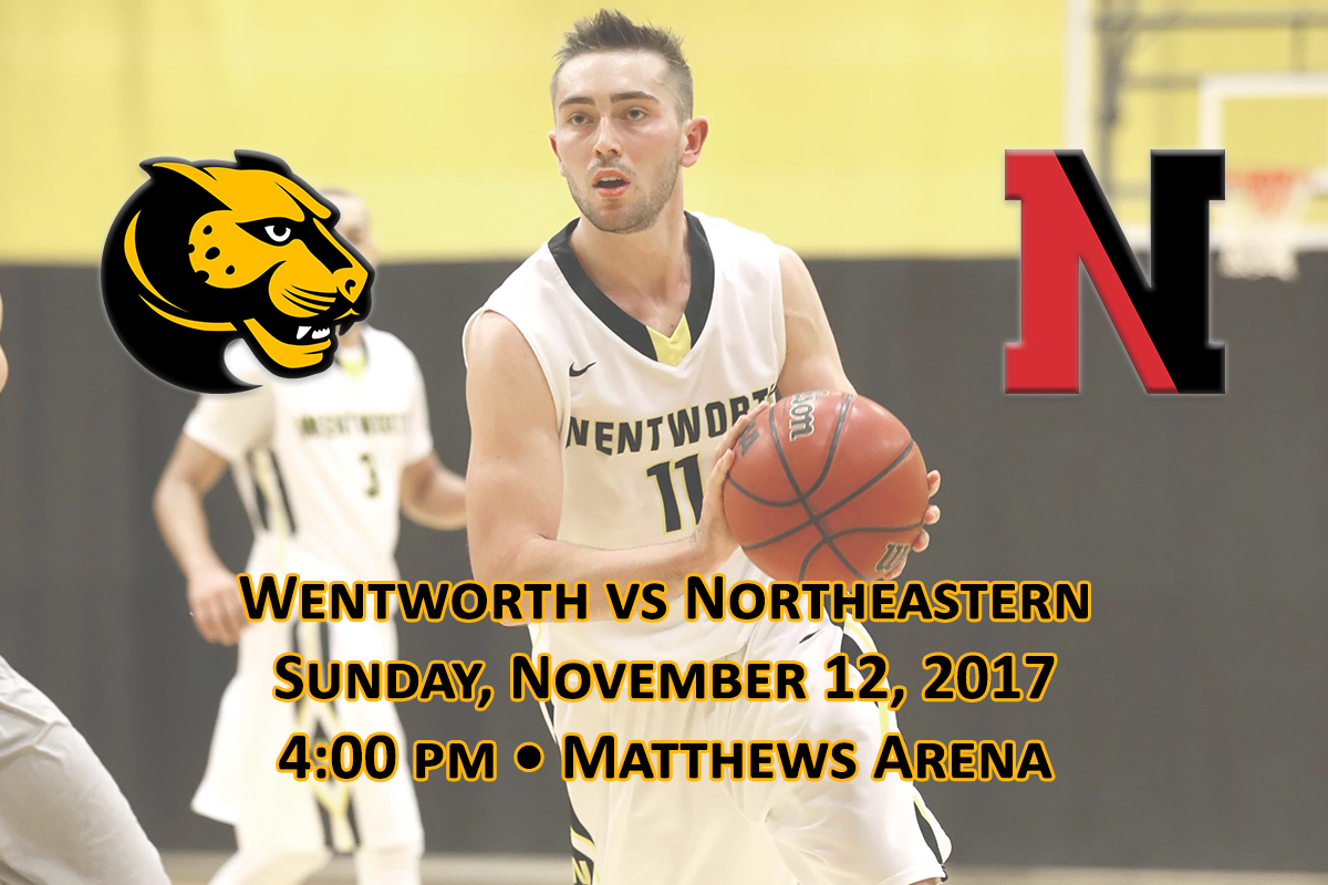 The Leopard men's basketball team will play its next door neighbor, Northeastern University, in an exhibition game on Sunday, November 12, before kicking off its 2017-18 schedule three days later