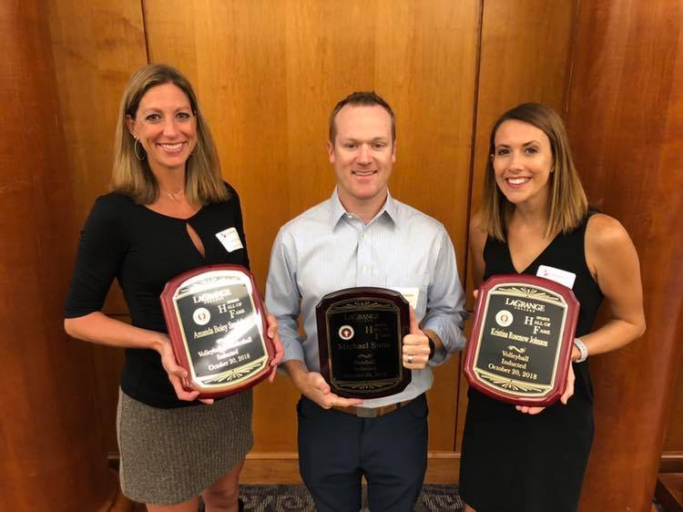 Three inducted into LaGrange College Sports Hall of Fame