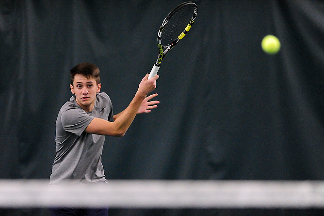 Russell Wins Twice Against Baldwin Wallace