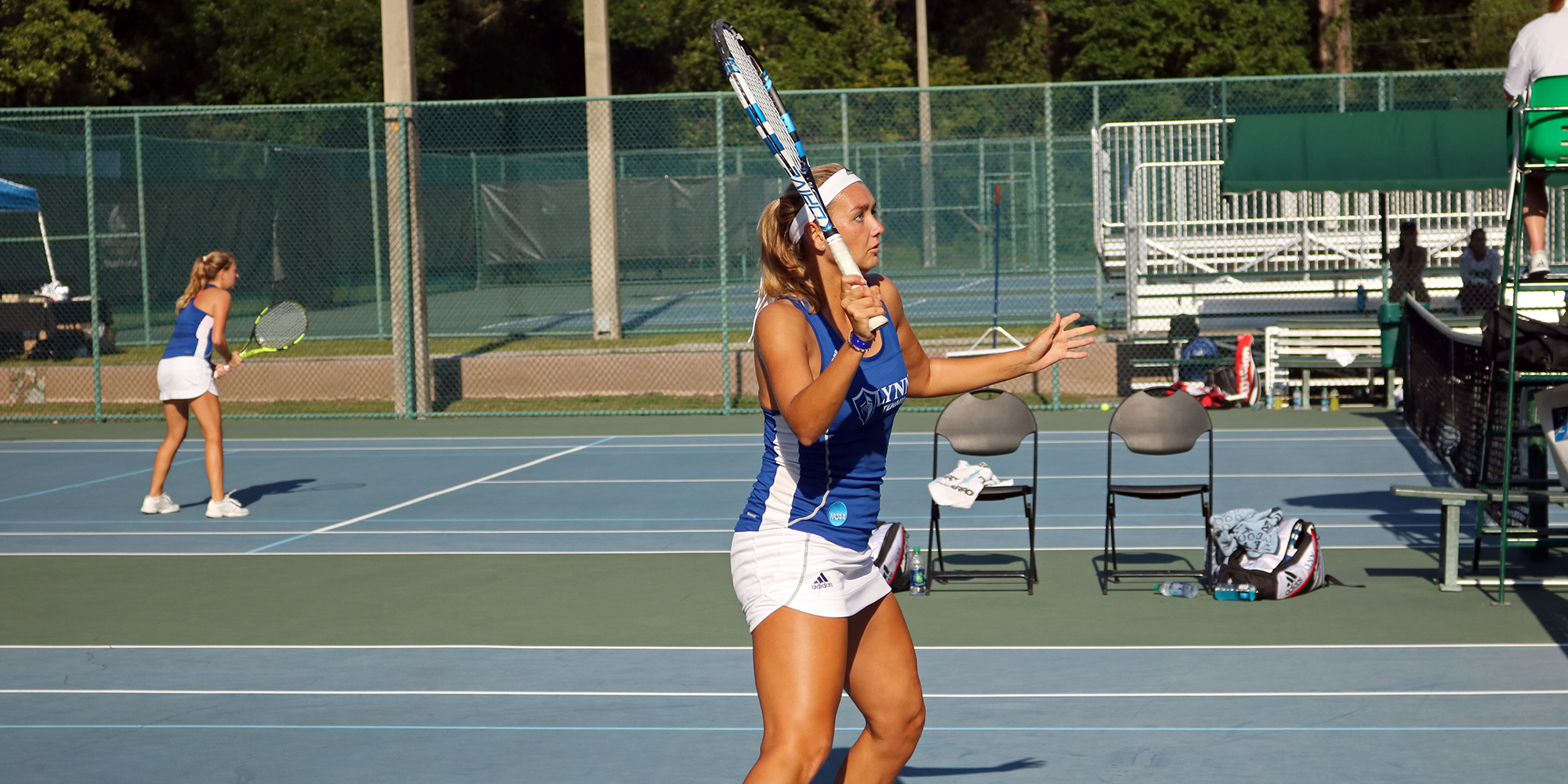 Bogolii & Abaza Take Third in Division II at ITA Oracle Cup