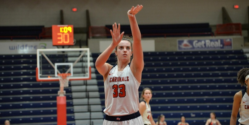 Six Cardinals Register Double-Figures in Win Over Tiffin
