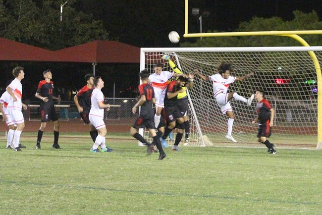 Men's Soccer Tie with Glendale, 2-2