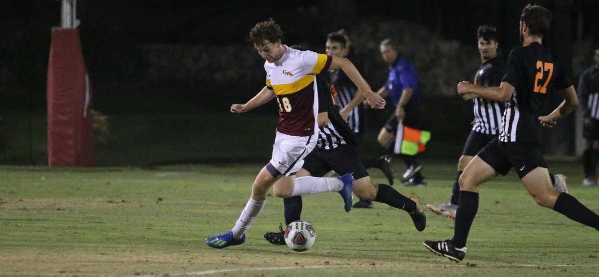 CMS Men's Soccer Remains Unbeaten, Untied, Unscored Upon; Defeats Cal Lutheran 3-0