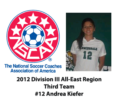 Kiefer Named NSCAA All-East Region