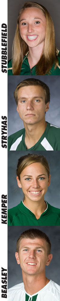 KEMPER, BEASLEY, STUBBLEFIELD AND STRYHAS RECEIVE END OF THE YEAR STUDENT-ATHLETE AWARDS