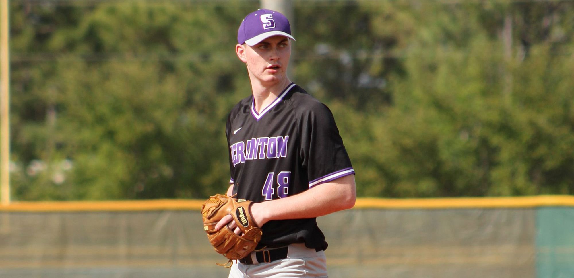 Freshman Matthew Yard worked 3 2/3 scoreless innings of relief for his first career victory on Friday.