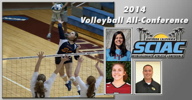 SCIAC All-Conference Volleyball Honors