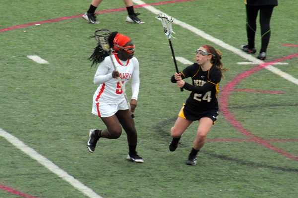 Huntingdon women's lacrosse falls to Meredith in conference battle