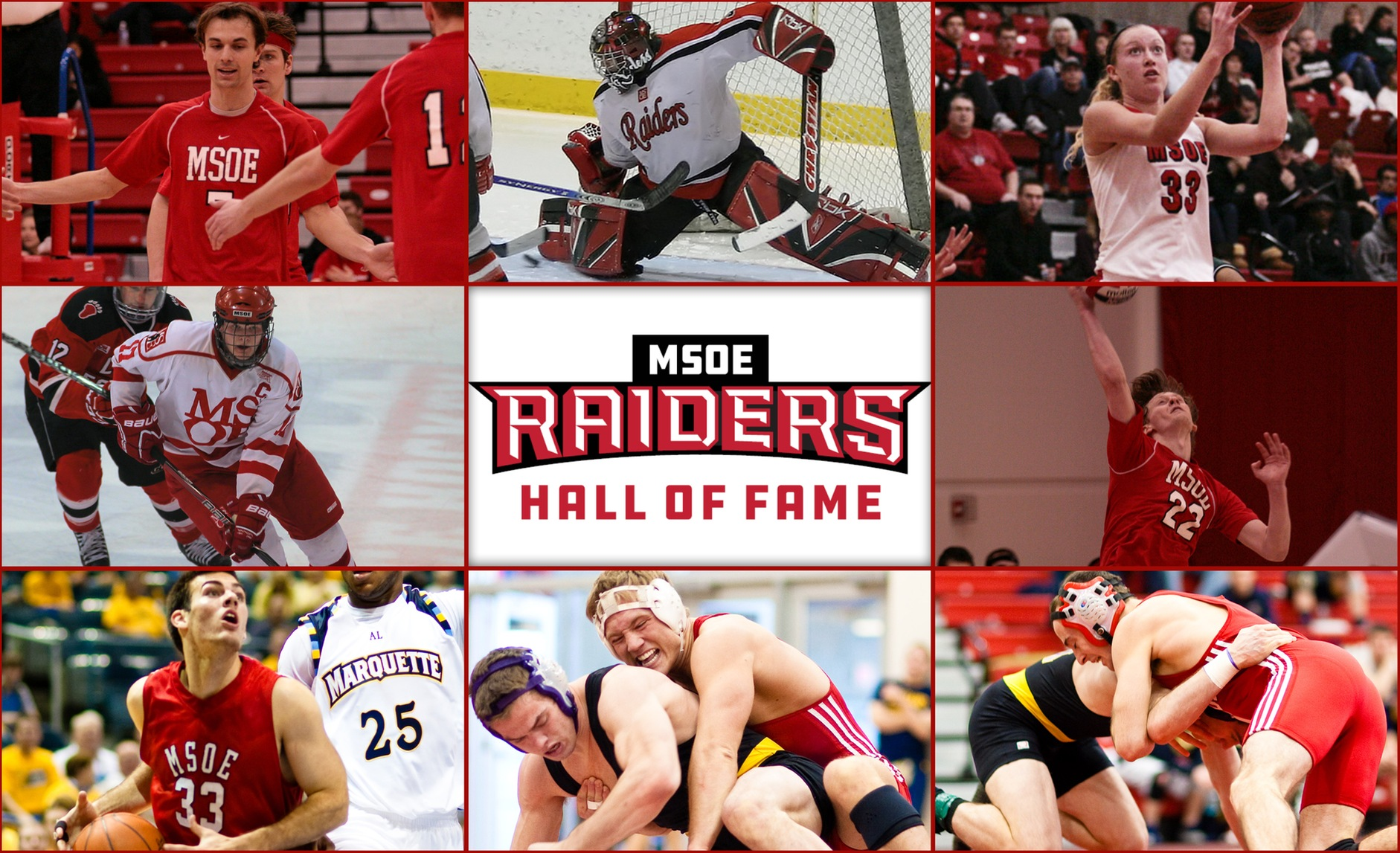 MSOE Announces 2019 Athletics Hall of Fame Class