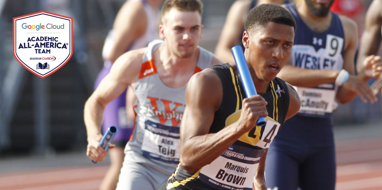 TLU's Marquis Brown Named to Academic All-America® Team
