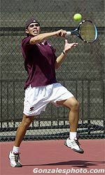 Men's Tennis Takes Hard-Fought Victory