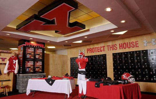 Virtual Tour Of New Look Football Locker Room