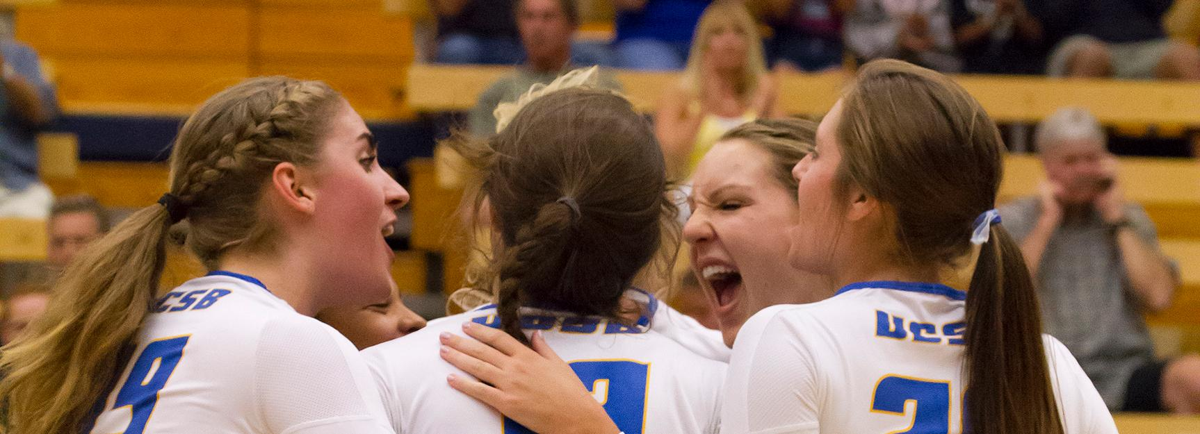 Gauchos Cruise to 3-0 Win Over Cal State Fullerton, Inch Closer to Conference Lead