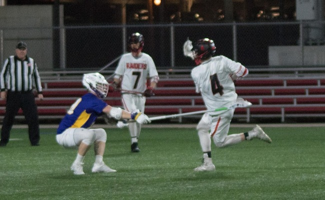 Lacrosse Ends Regular Season With Overtime Loss