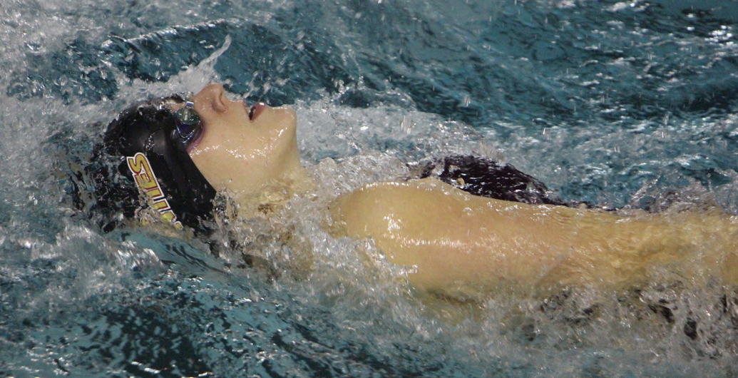 Mounties finish first swim meet of the year at UNB
