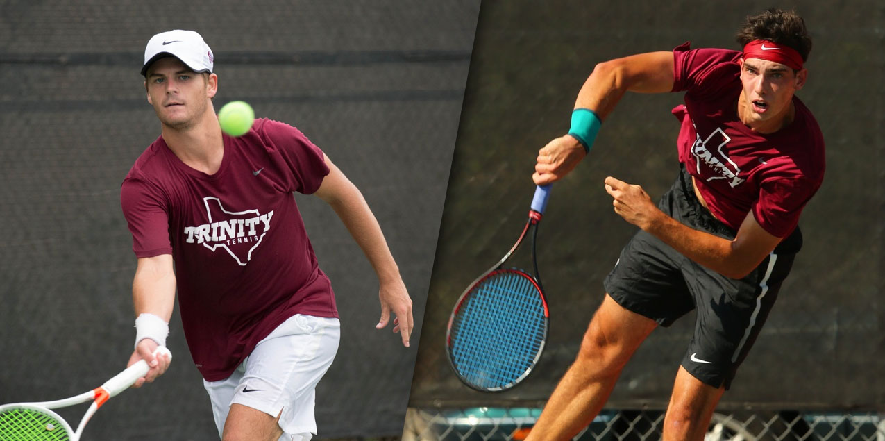 Trinity's Lambeth and Pitts Earn All-America Honors