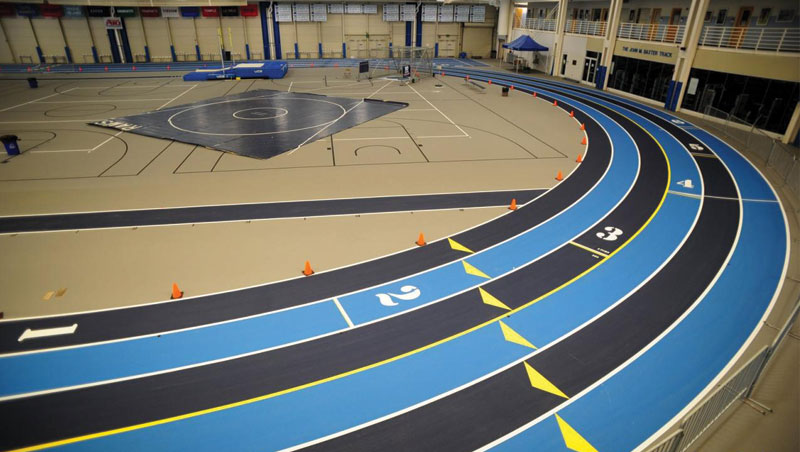 Henry Wins 60 Meter Hurdles, Men's Track and Field Fifth at URI Coaches' Tribute Meet
