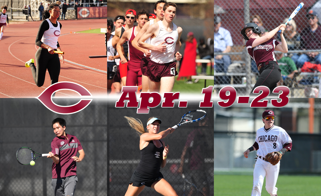 UChicago Athletics Preview: April 19-23