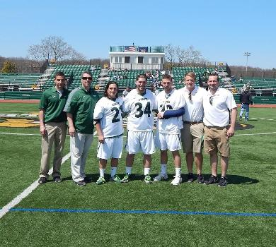 Desimone Scores Senior Day Game-Winner in Overtime