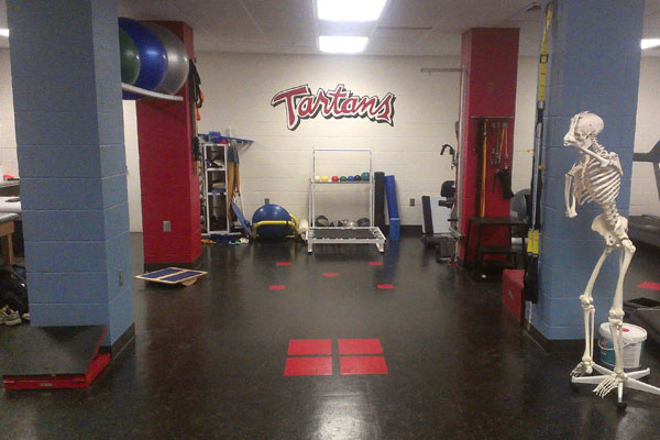 Athletic Training Facilities Carnegie Mellon University