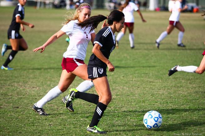 File Photo: Nayeli Requejo scored once and assisted on three others in the Falcons 7-0 win.