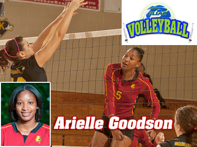 GLIAC Tabs Arielle Goodson As Women's Volleyball Player Of The Week