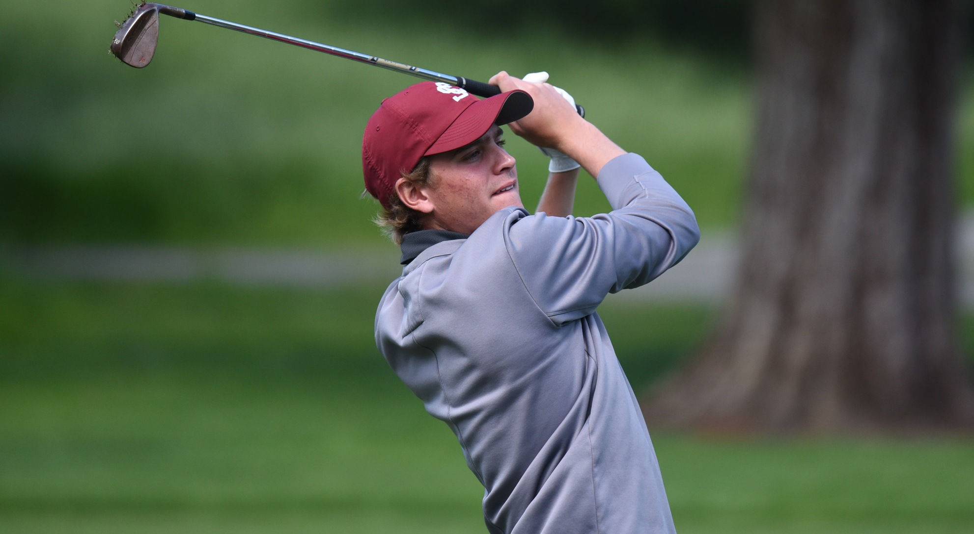 Men's Golf Tied for 12th Through 36 Holes of The Goodwin