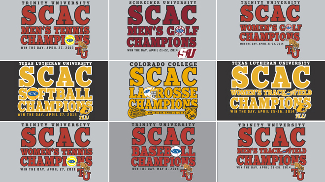 Order Exclusive SCAC Spring Championship Winners Gear