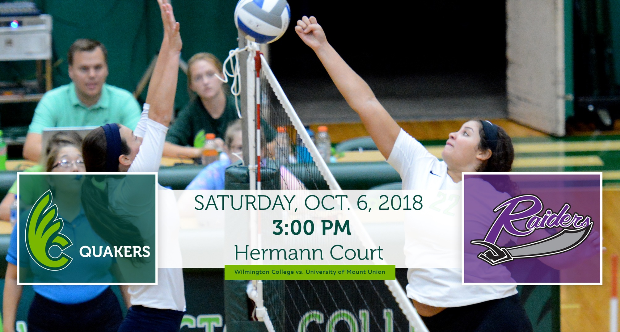Volleyball Hosting Mount Union on Saturday