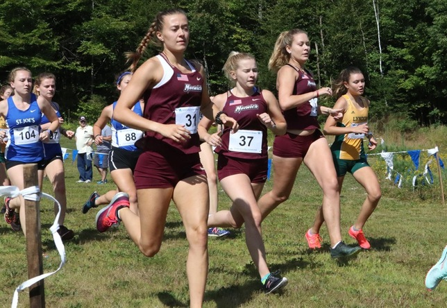 Cross Country: Women Take Fourth, Men Fifth at Aldrich Invitational