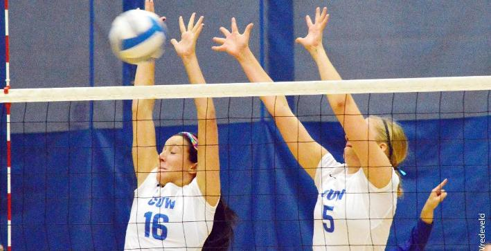 Middle Blocking leads Volleyball to NACC victory at Wisconsin Lutheran