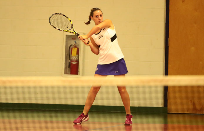 Women's tennis opens weekend road trip with 5-3 win at Le Moyne