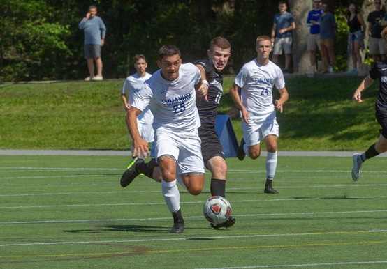 MEN'S SOCCER BATTLES ALBERTUS MAGNUS TO 1-1 DRAW